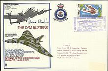 Leonard Cheshire VC. 21 June 72 Toronto Canada The Dambusters Flown Vulcan B MK2 from 617 Sqn.The Da