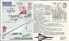Captain Thomas Michael Vojtek, C75 7 May 1980 BFPS 7580 Special Concorde Postmark London 1980 by Con