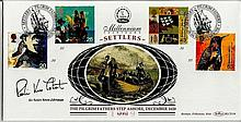 Robin Know-Johnston signed Millenium settlers fdc.  Good condition