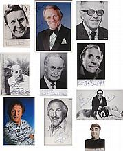 Vintage Comedy. A selection of signed postcard sized pictures of vintage comedians. Norman Vaughan,