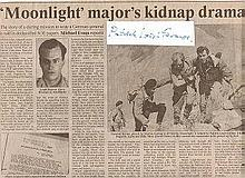 Sir Patrick Paddy Leigh Fermor DSO The Times. Signature and article about SOE hero Major Sir Patrick