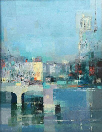 Lancelot NEY (1900 - 1965) La Seine et Notre-Dame