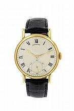Montre-bracelet en or signée (cadran et boîtier), 'Breguet' le boîtier numé