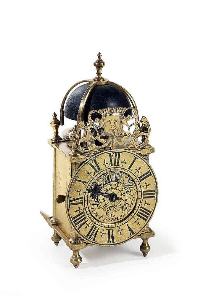 Pendule lanterne miniature r veil sign e furet l ain aparis pre - Www chayette cheval com ...