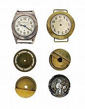 Pièces de démonstration, prototypes et mouvements pour les montres bracelet
