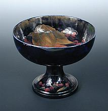 A Moorcroft Pomegranate pattern tazza,