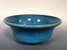 A Carter, Stabler & Adams Poole Pottery 'Chinese Blue' glazed bowl,