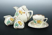 Passion Fruit, a Clarice Cliff breakfast set,