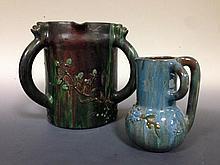 An Elton Ware three handled jug,