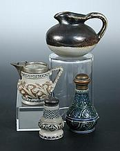 A collection of Martin Brothers miniature wares,