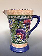 A Charlotte Rhead Byzantine pattern jug,