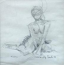 § Louise Riley-Smith (British, 20th Century) Figure studies, one entitled