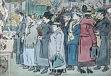 § Powys Arthur Evans (British, 1899-1981) East End Market