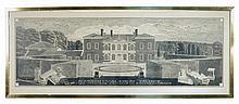 § Quinlan Terry, CBE (British, b.1937) King's Walden Bury, Hertfordshire inscribed lower centre
