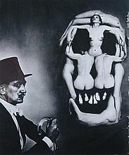§ Philippe Halsman (American, 1906-1979) Dali and Skull, 1951, gelatin silver print, printed later, with the photographer's copyrigh...