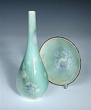 Paul Prochowsky for Royal Copenhagen, a crystalline glaze vase,