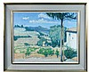 § Anthony Atkinson RCA (British, b. 1929) Vines at Rasteam, Provence signed lower right