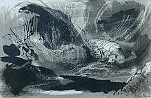 § John Piper, OM, CH (British, 1903-1992) Welsh mountain landscape signed lower right