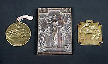 René Lalique, a Chilean bronze centenary medal