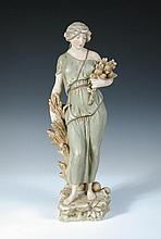 A Royal Dux of a Classical lady,