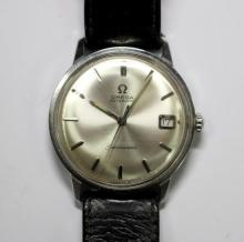 By Omega - a gentleman's steel cased automatic 'Seamaster' wristwatch,