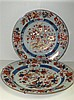 Two 18th century Imari dishes,