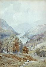 Eliot H Marten (British, exh. 1886-1901) The Cumberland Fells; and A Glimpse of Ullswater both signed lower left and lower right