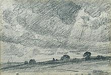 John Constable, RA (British, 1776-1837) Storm Clouds c. 1815-18