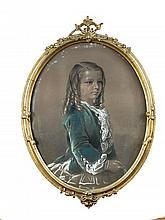 Attributed to George Richmond (British, 1809-1896) The Thornton Children of Moggerhanger Park