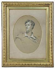 English School (19th Century) Portrait of Lord Byron