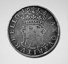 Oliver Cromwell 1658 crown,