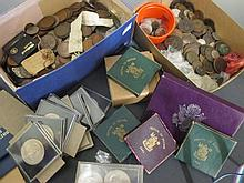 A large quantity of mostly GB coinage,