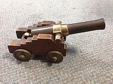 A model canon, 19th century,