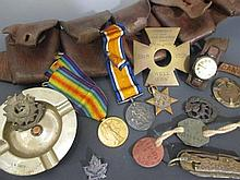 A small collection of militaria,