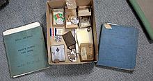 A WWII pilot log book,