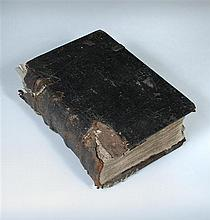 Bible, English, 1562 folio.  [The Bible in Englishe], Richarde Harrison 1562, folio, black letter, double column, 58 lines per...