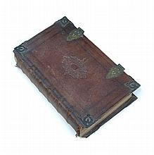 Prayer Book and Bible, London: Charles Bill and Executrix of Thomas Newcomb, 1711, folio, Bible with added engraved general ti...