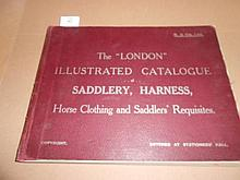 The London Illustated Catalogue of Saddlery, Harness,.... oblong 4to, circa 1890, 90pp, some tinted illustrations, recased pre...
