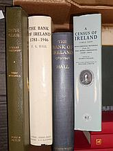 Ireland - History.  Alumni Dbliniensis, 3 vol.; Book of  Trinity College Dublin 1591-1891; A Census of Ireland; HALL. The Bank...