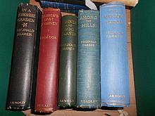 FARRER (Reginald) In a Yorkshire Garden, London: Edward Arnold, 1909; Alpines and Bog Plants, 1908; Among the Hills, London: H...