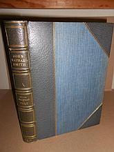 FRANKAU (Julia) John Raphael Smith His Life and Works, London 1902, with large portfolio of 50 prints including 31 coloured pl...