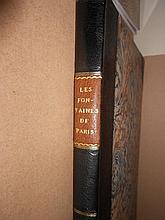 DUVAL (Amaury). Les Fontaines de Paris, Anciennes et Nouvelles; Ouvrage Contenant Soixante Planches Dessinees et Gravees au tr...