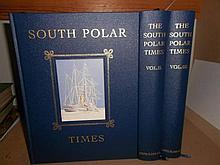 THE SOUTH POLAR TIMES, three volumes 2002, Centenary Edition no. 18/350, pictorial cloth gilt