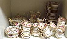 An early 19th century J Rose & Co. 'Coalport Improved Felspar Porcelain' tea and coffee service