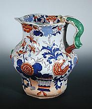 An early 19th century Mason's ironstone jug,