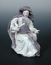 A Bow figure of an Abbess,