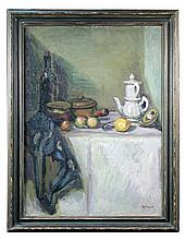 § Duncan Grant  - The White Coffee Pot - signed lower right