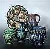 Five Castle Hedingham wares,