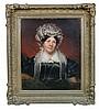 Irish School (19th Century) - Portrait of Mrs Mary Redmond -oil on canvas
