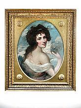 Circle of Sir Joshua Reynolds (British, 18th Century) Portrait of Emma, Lady Hamilton, oil on canvas